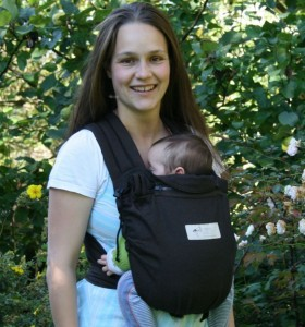 Storchenwiege Babycarrier Anthracite